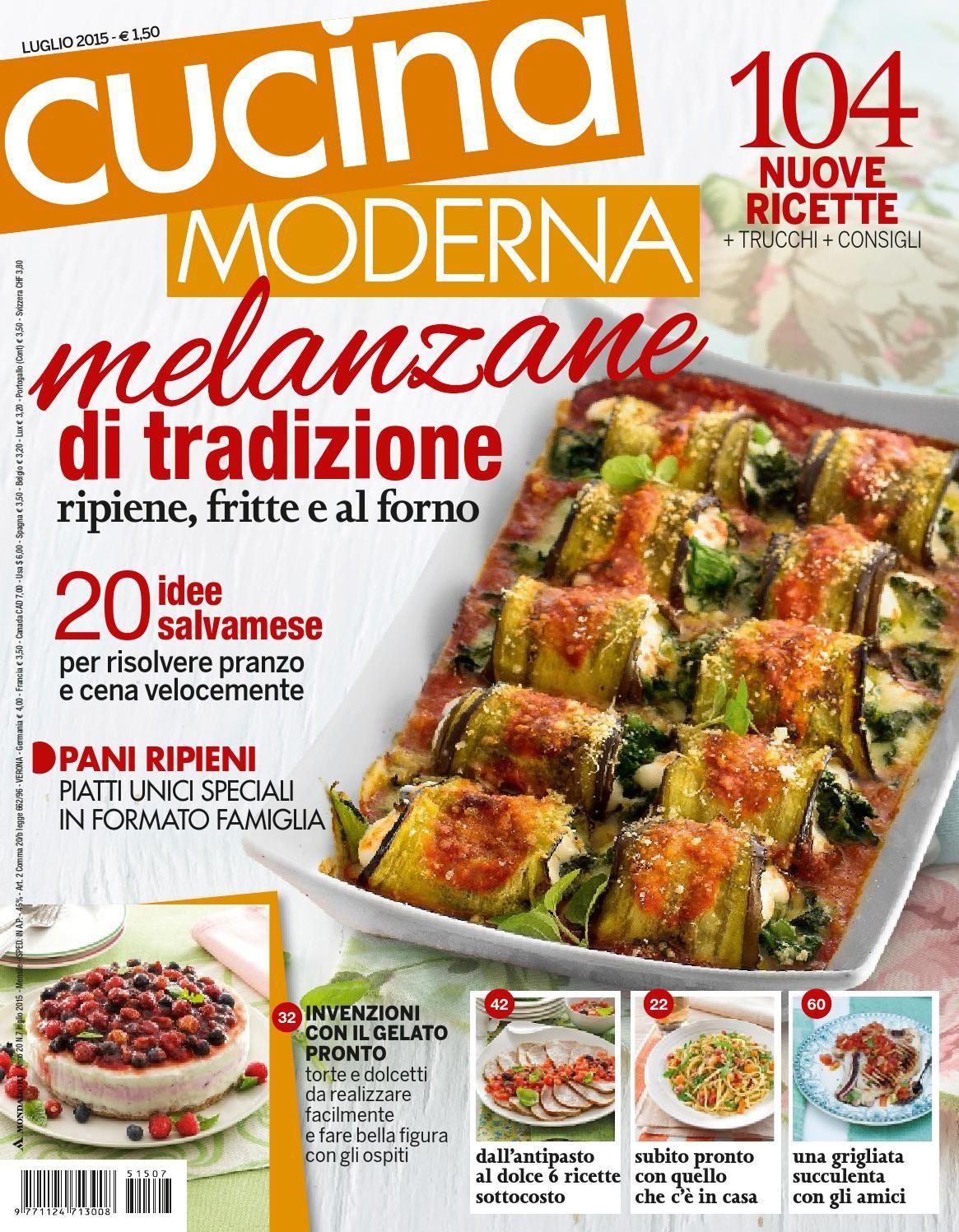 Cucina moderna 07 2015 riviste cucina for Riviste cucina