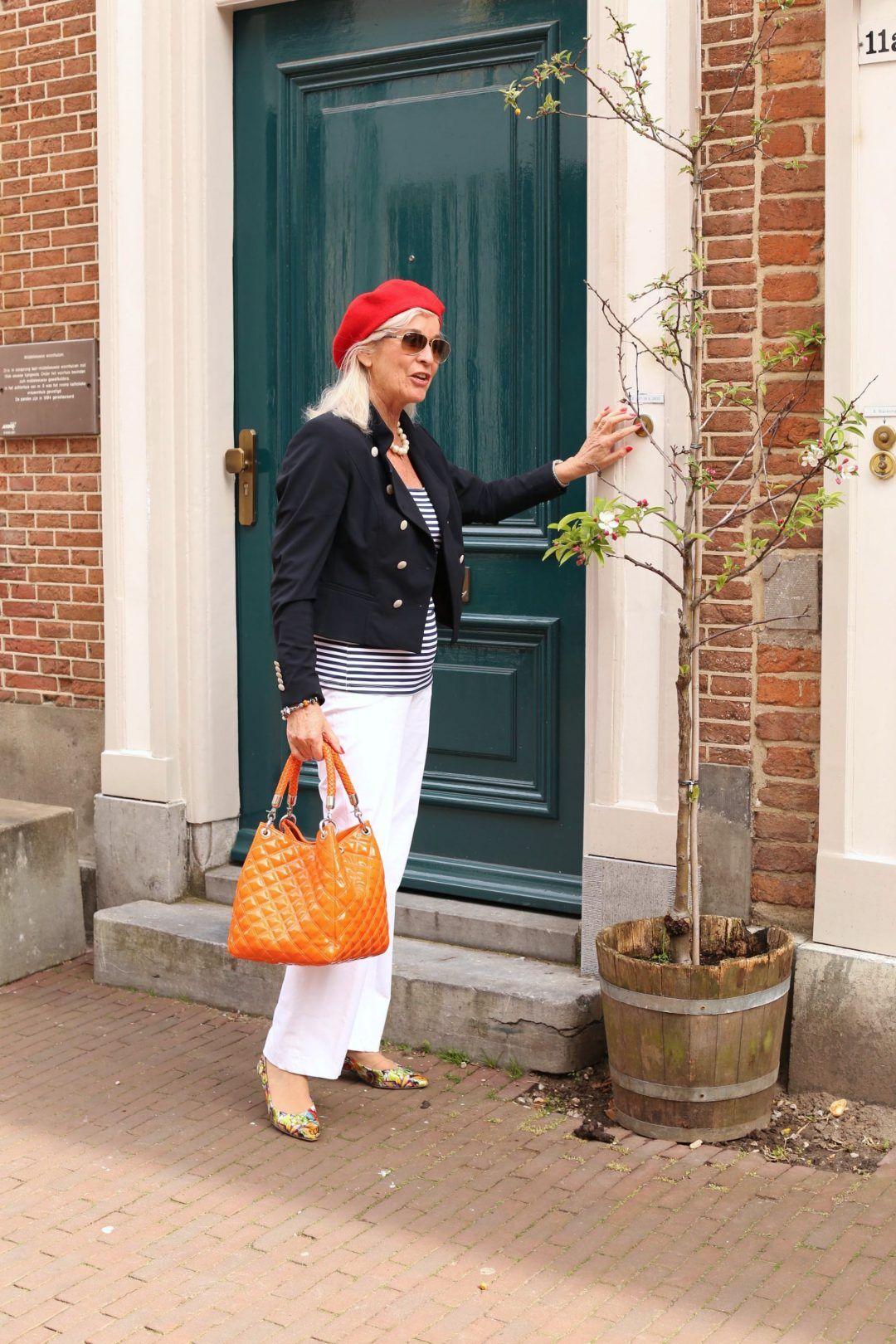 Anne in marine look, elk voorjaar weer mooi