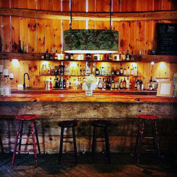 50 Pub Shed Bar Ideas For Men - Cool Backyard Retreat ...