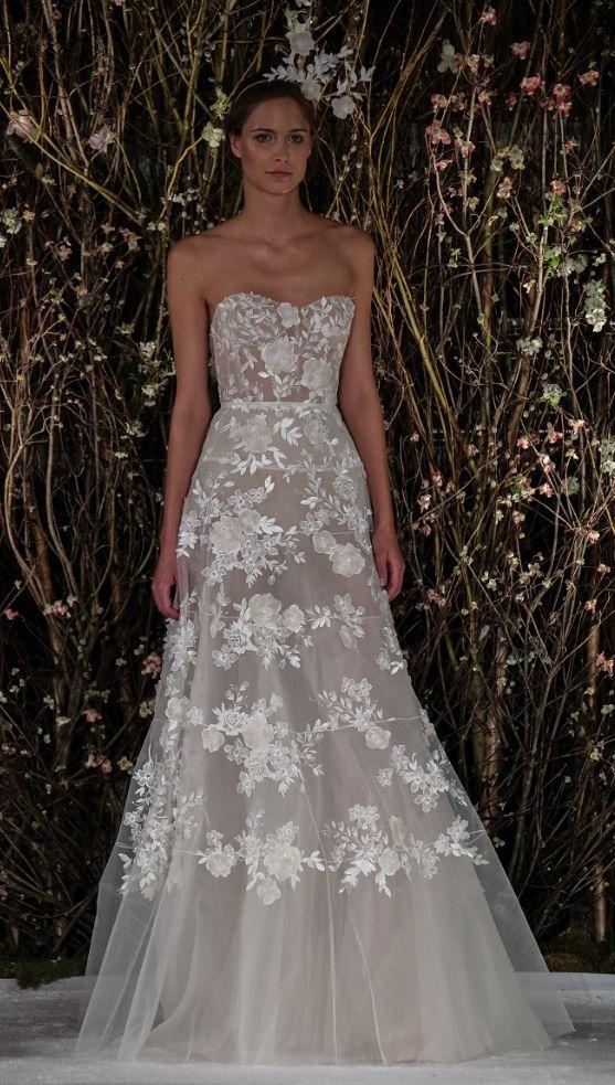 Wedding Dresses 12 10302016 Km Modwedding Wedding Dresses Applique Wedding Dress Wedding Dresses With Flowers
