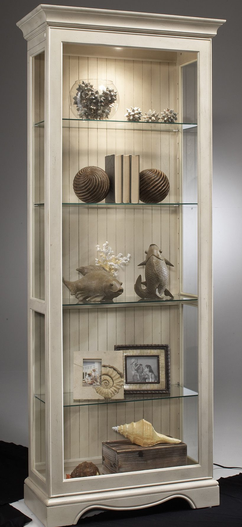 Philip Reinisch Co Colortime Ambience Curio Cabinet