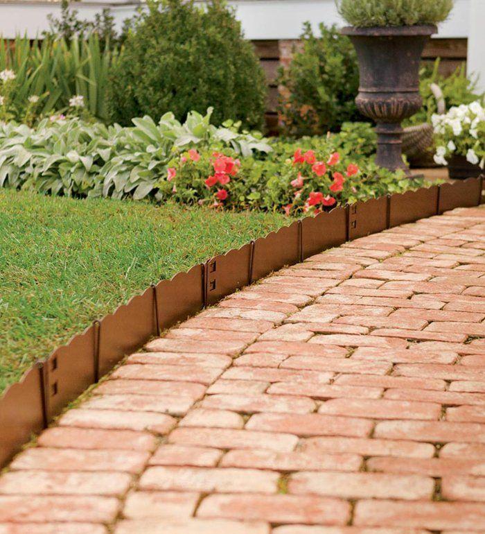 Charmant 111 Gartenwege Gestalten Beispiele   7 Tolle Materialien Für Den Boden Im  Garten!