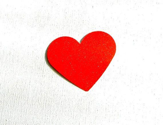 Large Heart Glitter Die Cuts set of 8/16/24 in choice by MOesKidz, $2.50