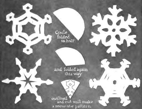 Image result for make snowflakes with kids