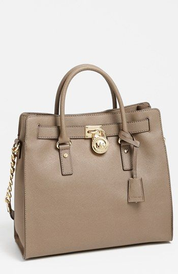5dec7fc315 MICHAEL Michael Kors  Hamilton - Large  Saffiano Leather Tote available at   Nordstrom
