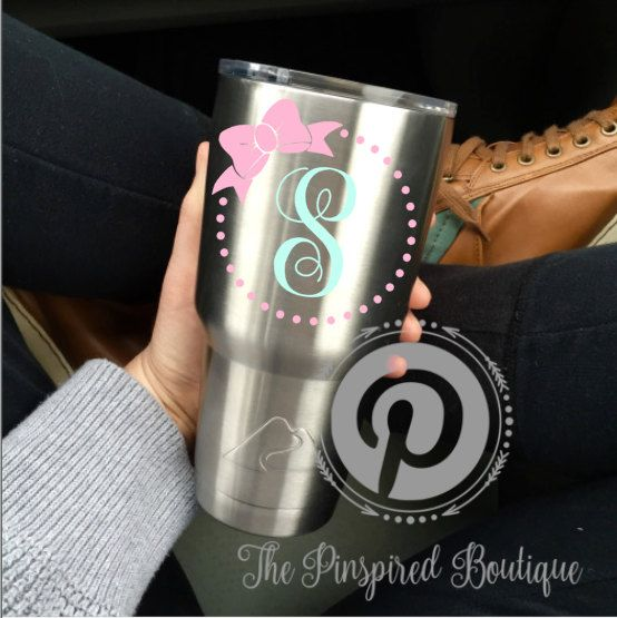 Custom Decals Will Fit Most Standard Ozoz Tumblers They - Custom stickers for yeti cups
