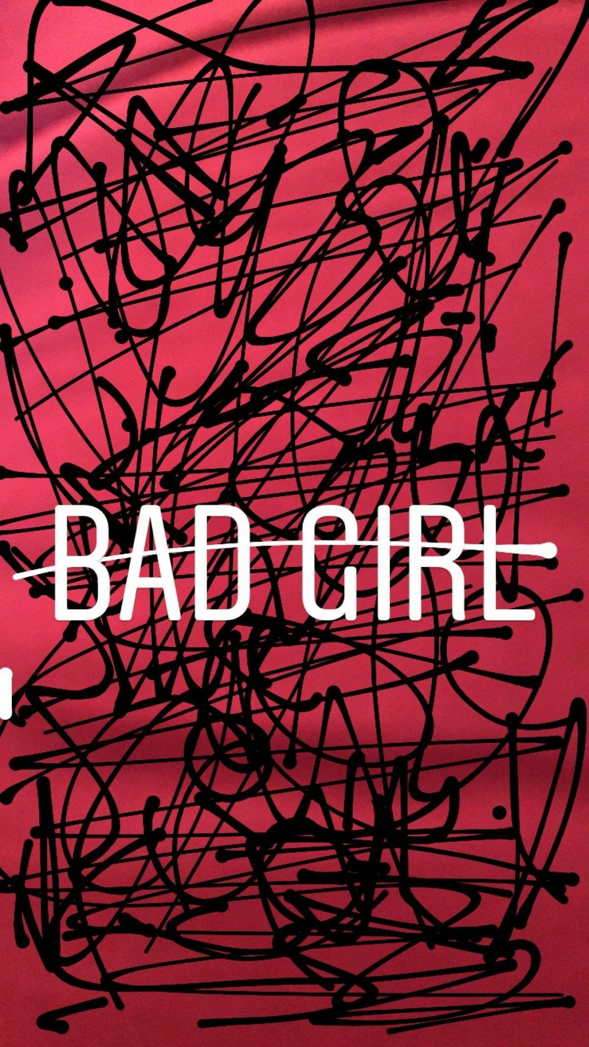 Bad Girl Fond D Ecran Citation Fond D Ecran Telephone Fond Ecran Emoji