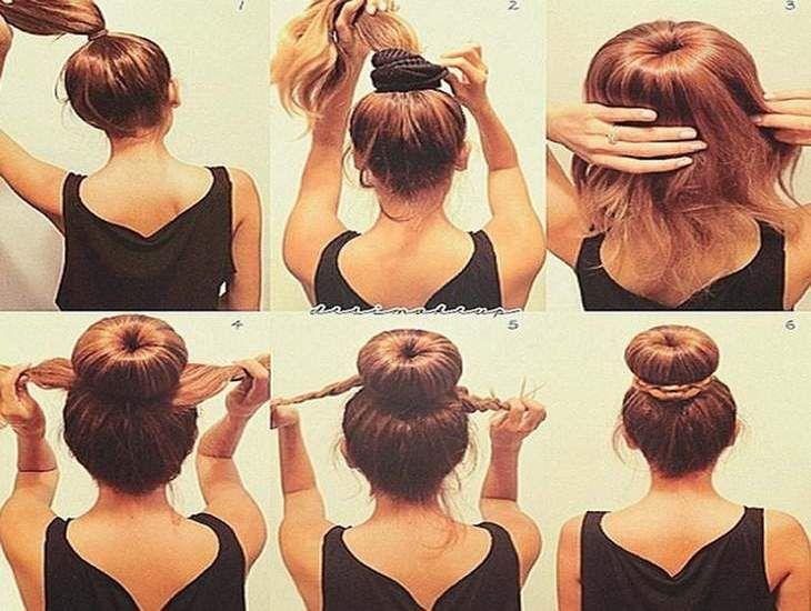 step by step hairstyles for medium length hair www
