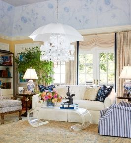 For The Designer Showhouse of New Jersey, interior design doyenne, Barbara  Ostrom incorporated both