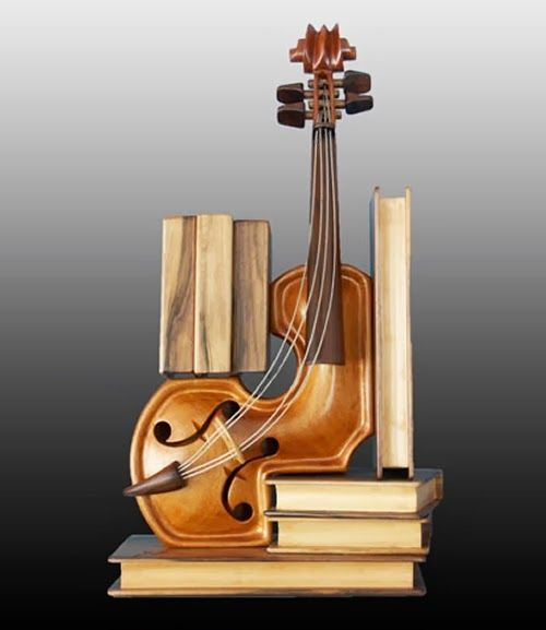 06-Education-Philippe-Guillerm-Musical-Instruments-Sculptures-French-