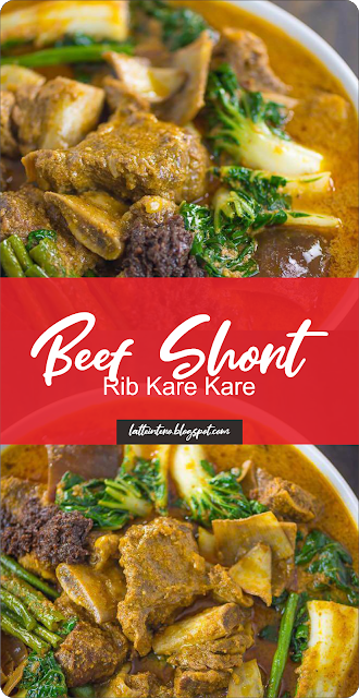 Beef Short Rib Kare Kare Latte Intero Eat Food Recipes Chicken Grilled Chicken Recipes Spicy Recipes Slow Cooker Beef Stew