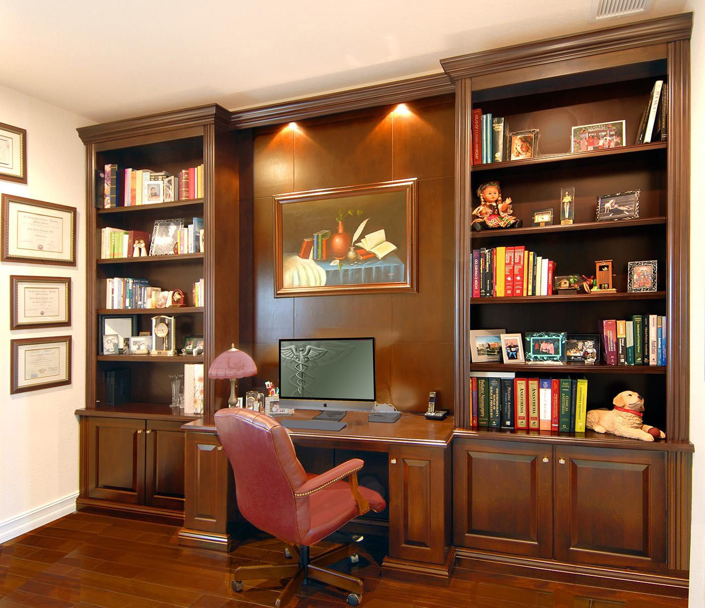 Image Result For Home Office Wall Units With Desk