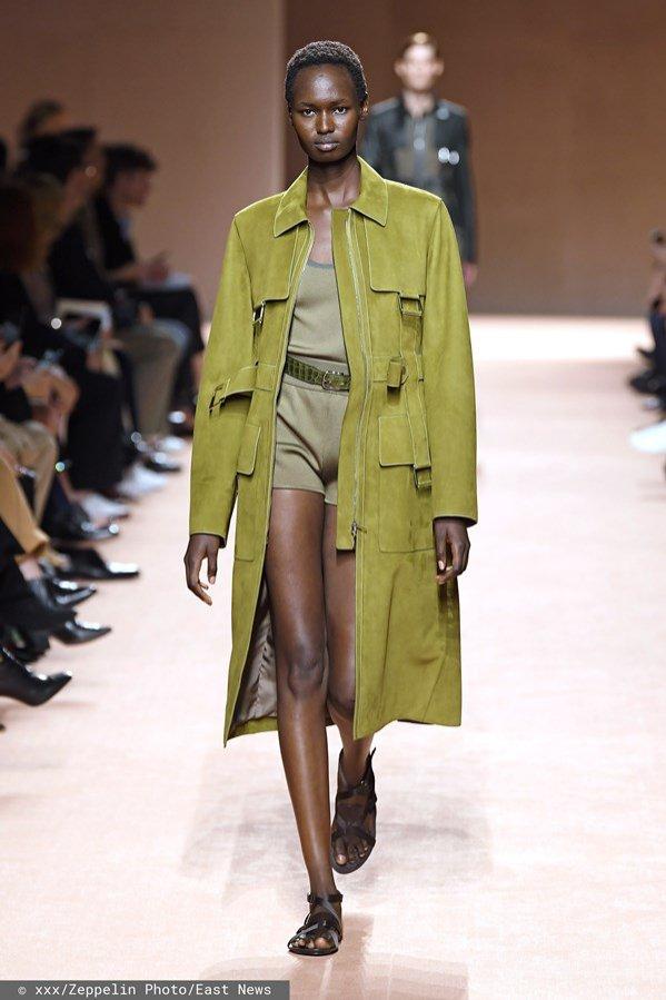 Trendy Wiosna Lato 2020 Moda Damska Lamode Trench Coat Fashion Coat