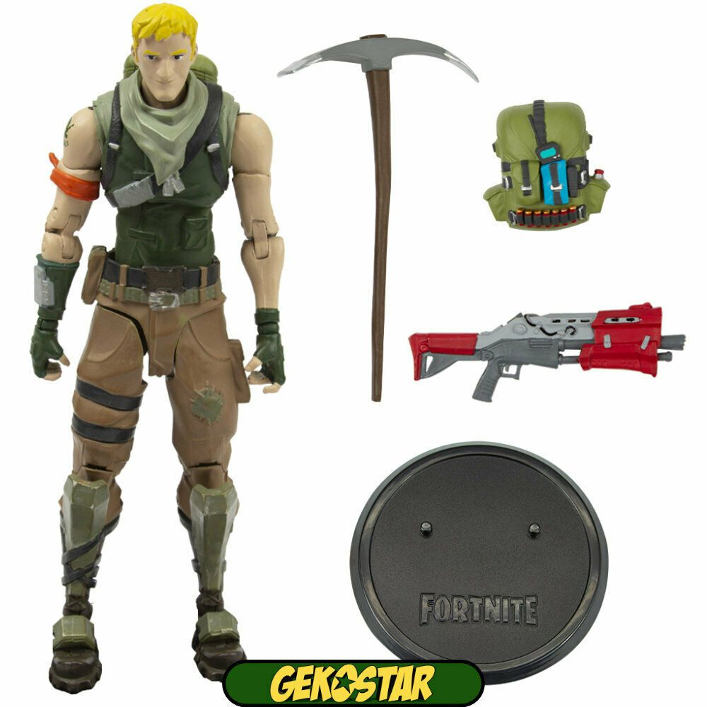 """Fortnite jonesy PVC Figure with Accessories 8/"""" Toy Figure Action Kids Fans Gift"""