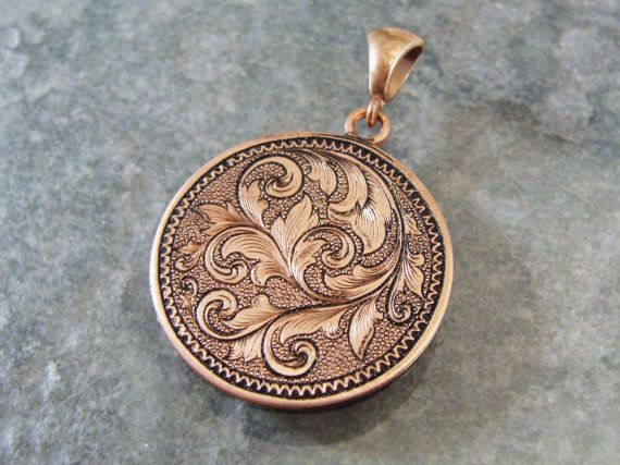 Copper Calafans scrollwork