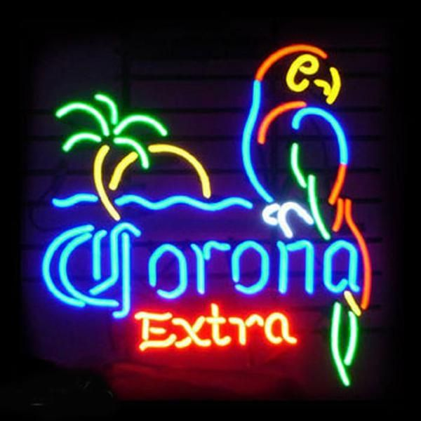 This Neon sign is perfect for any Corona extra parrot beer