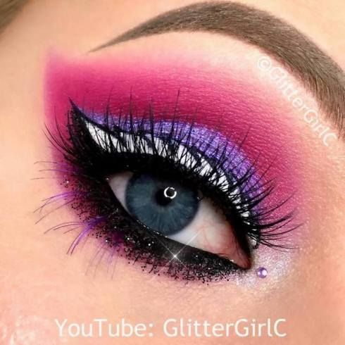 beauty , cosmetics , ever after high , eyeliner , eyeshadow , glittergirlc , makeup , raven queen