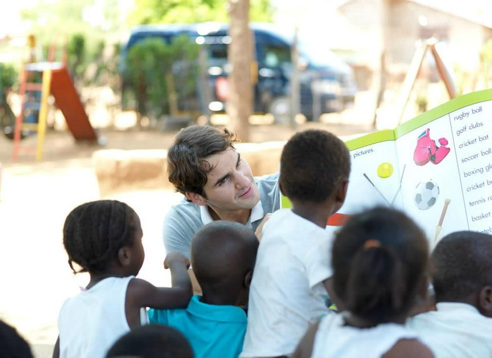 RF Foundation: Roger Federer visits project in South Africa