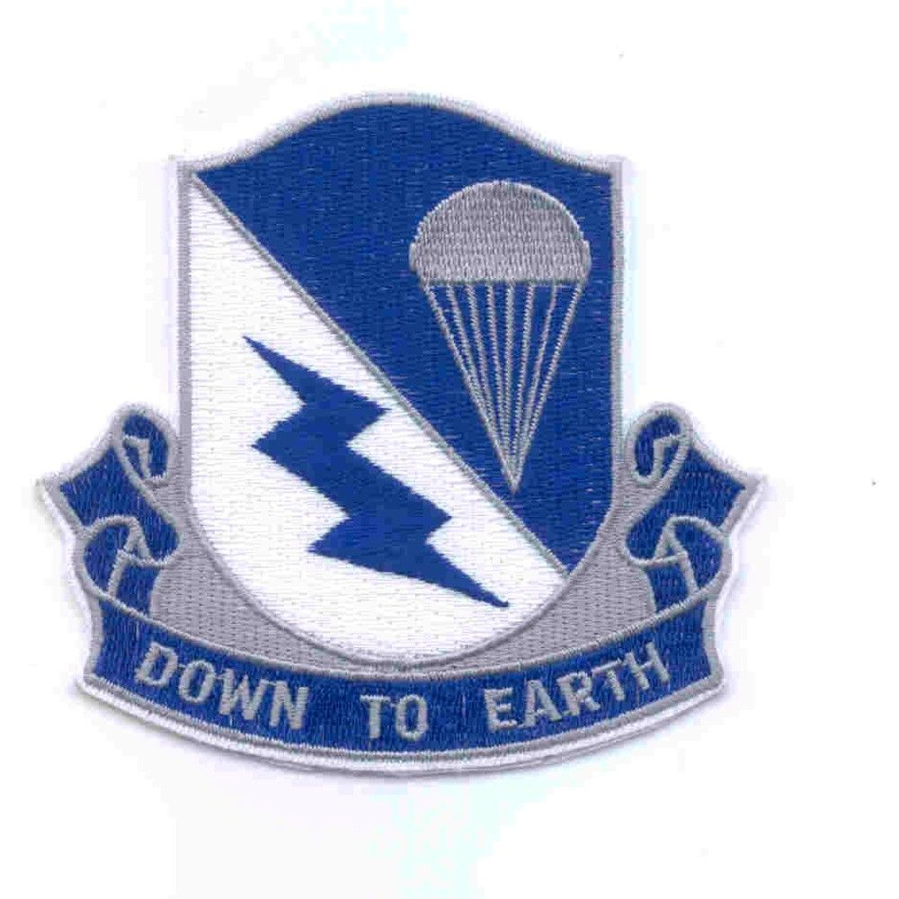 507th Airborne Infantry Regiment Patch Down To Earth