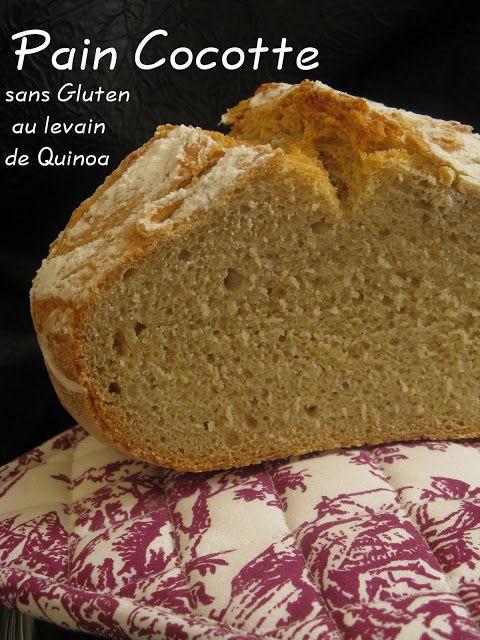 J'en reprendrai bien un bout...: Pain sans gluten au Levain de Quinoa: 2 recettes sur le banc d'essai & Travail de recherches sur les # farines