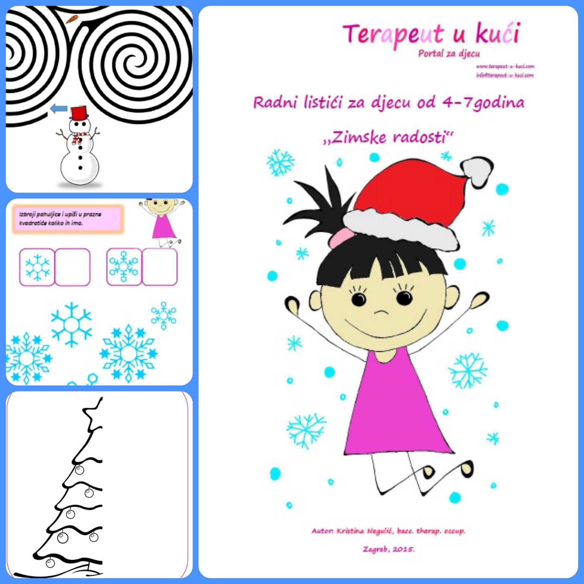 Worksheets Winter Joy