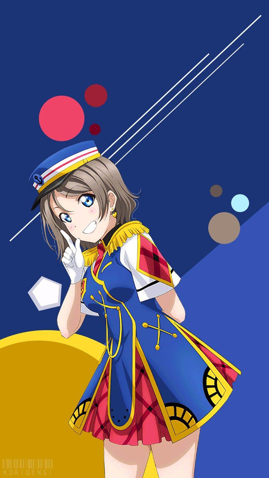 Watanabe You Love Live Wallpaper Gadis Anime Animasi Gambar