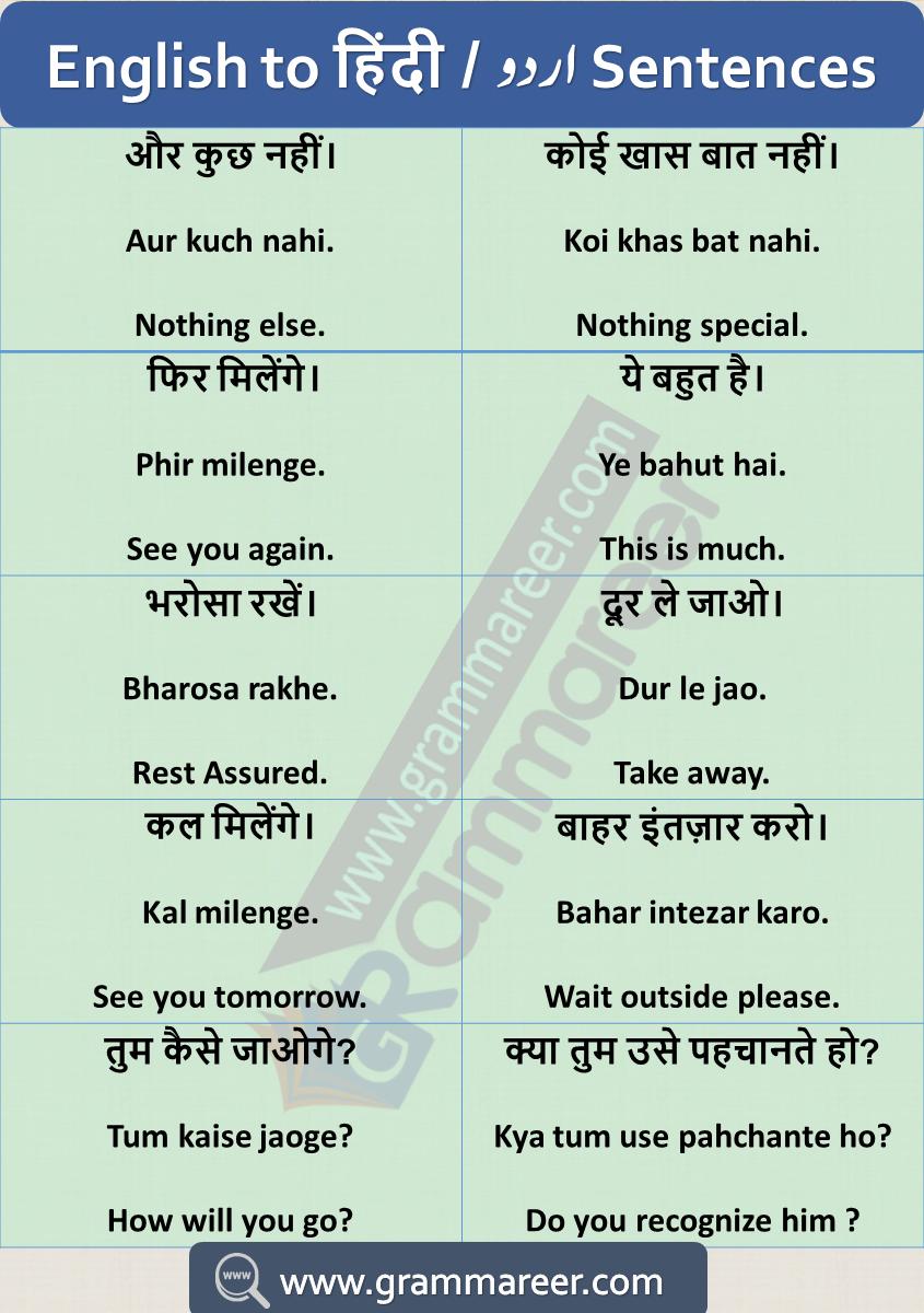 English Hindi Dialogue For Spoken English English Learning Spoken Hindi Language Learning Learn English Words