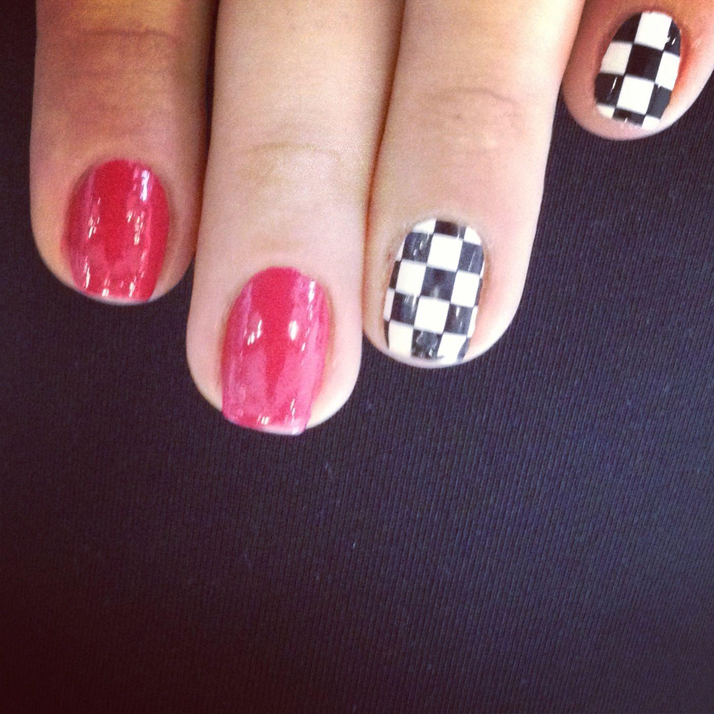 Formula 1 Nails Nail Art Pinterest