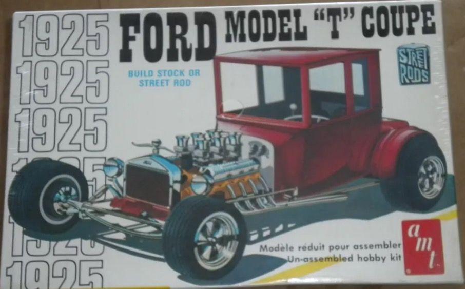 Amt Ford Model T Coupe Model Cars Kits Plastic Model Kits