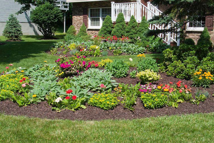 Garden Perennial Flower Bed Design * Visit the image link more