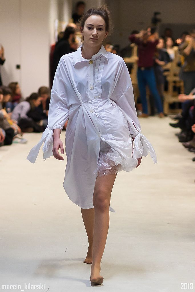 design by Ola Kowalska Fashion Design Dept at School of Form #schoolofform fot. Marcin Kilarski