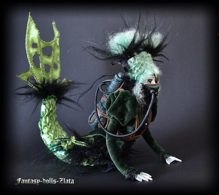 Zlata's fantasy dolls - Mermaid Katrina
