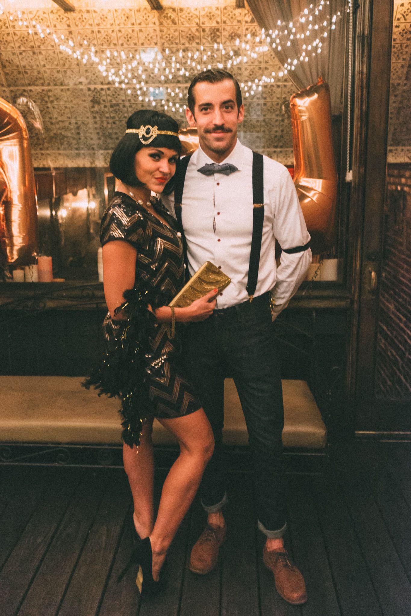 Couples Halloween Costumes 2019 Diy.Roaring 20 S Halloween Couple 2019 Costumes In 2019 Diy