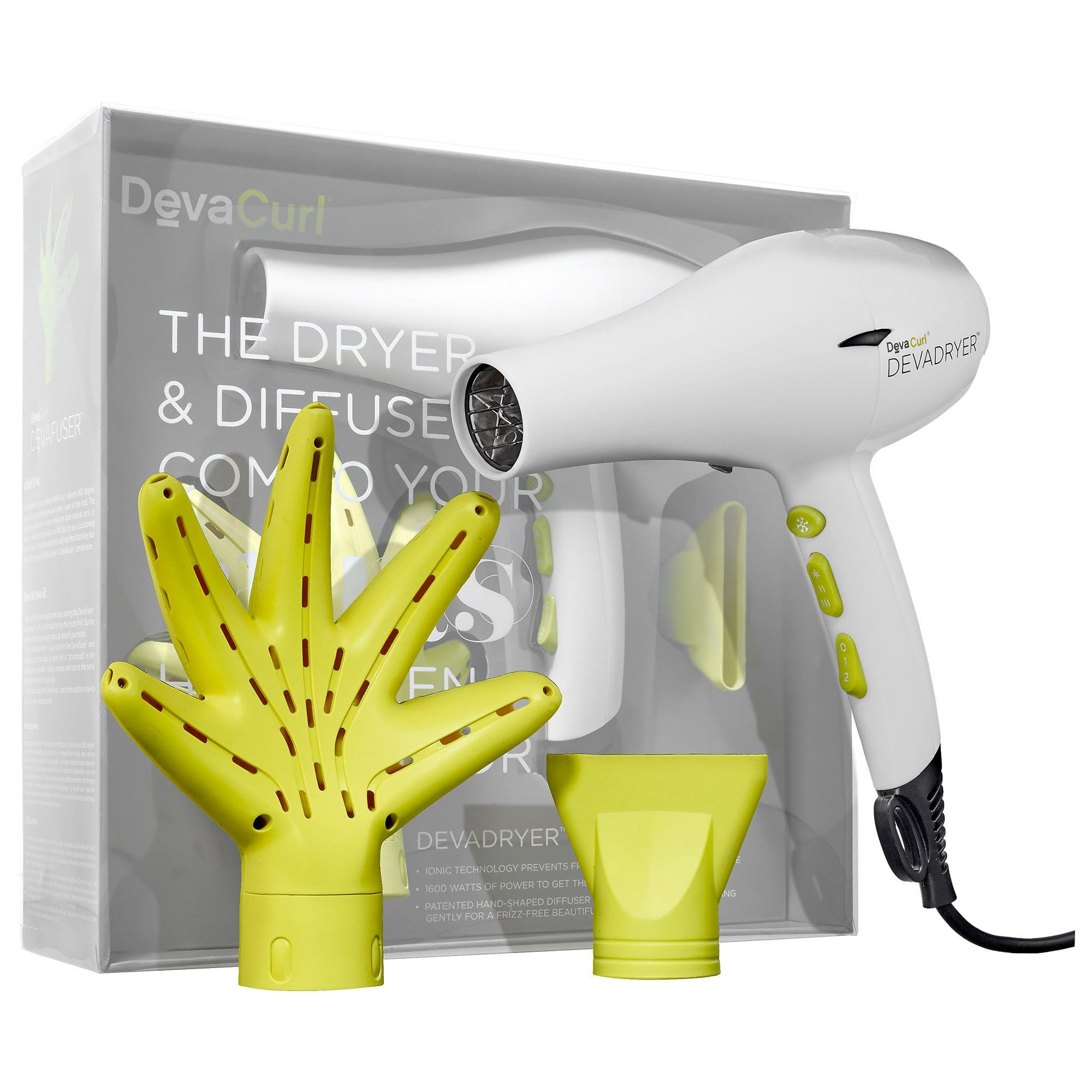 DEVADRYER™ & DEVAFUSER™ Dryer & Diffuser Combo For All