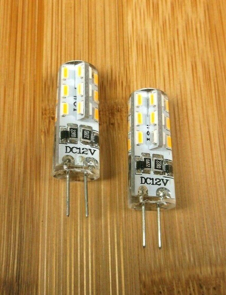 Sponsored Ebay 2 Bbt Marine Grade 12 Volt Soft White 24 Led G4 Light Bulbs Light Bulbs Bulb