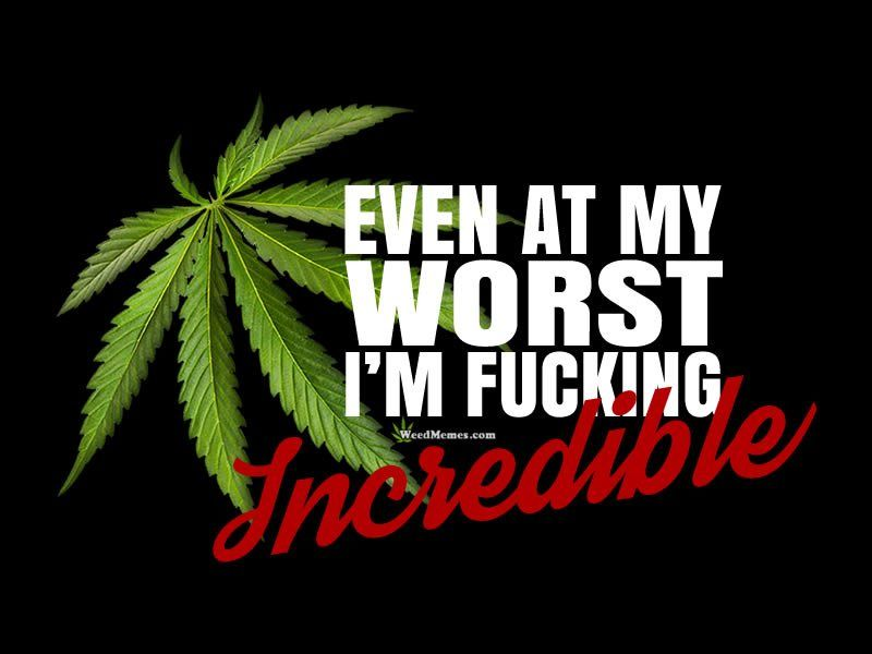 Weed Quotes Even At My Worst Saying Marijuana Quote Love Weed Amazing 420 Quotes Tagalog