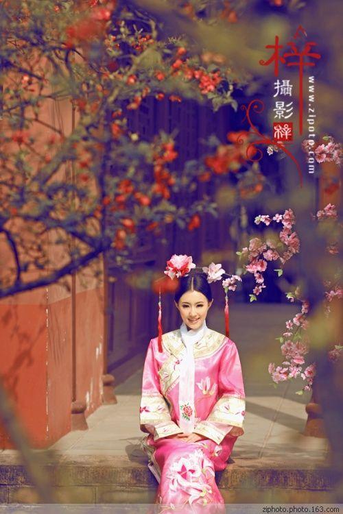 Elegant Concubine in Harem Of Qing dynasty