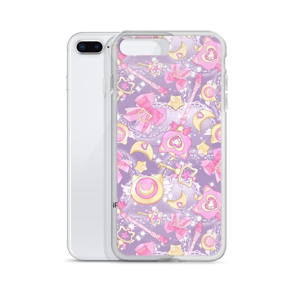 Magical Girl iPhone Case (Purple) - iPhone 7 Plus/8 Plus