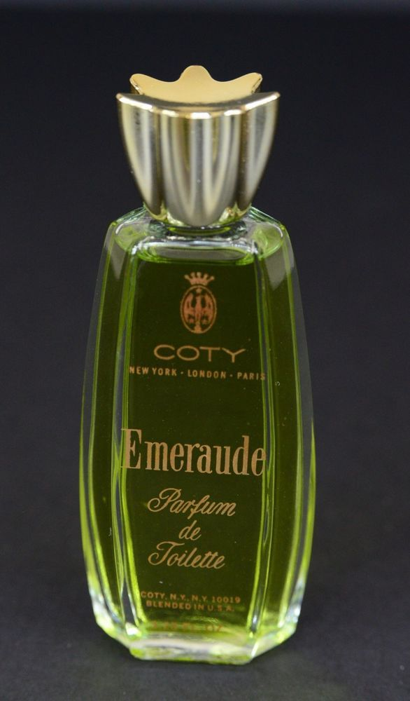 emeraude perfume bottle