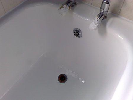 Home Dzine Restore Ceramic Or Porcelain Bathtub Or Sink Bathtub Bathtub Drain Sink