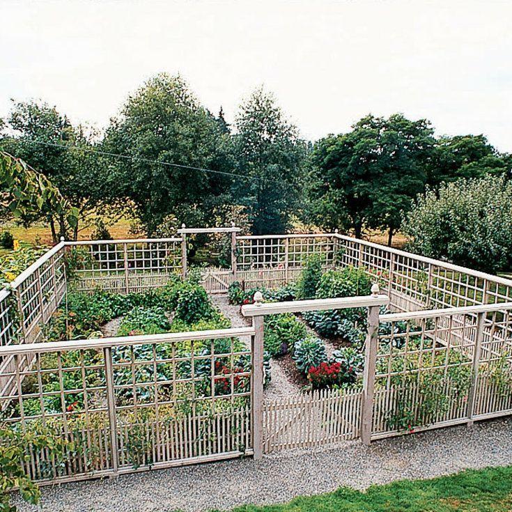 Herb Garden On Fence: Deer-Proof Garden Fence Ideas