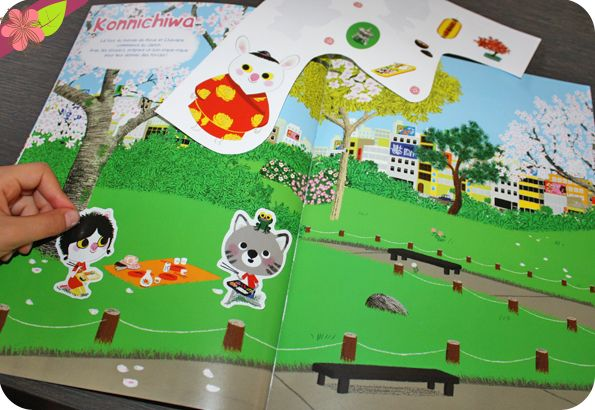Mon livre de stickers pour découvrir le monde avec Mouk Texte et illustrations de Marc Boutavant Publié en 2015 par les éditions Albin Michel jeunesse