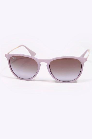 Ray-Ban Lilac Metal Arm Sunglasses - pastel sunglasses!