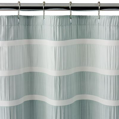 Dragonfly Flower Striped Shower Curtain Spa Shower Curtain