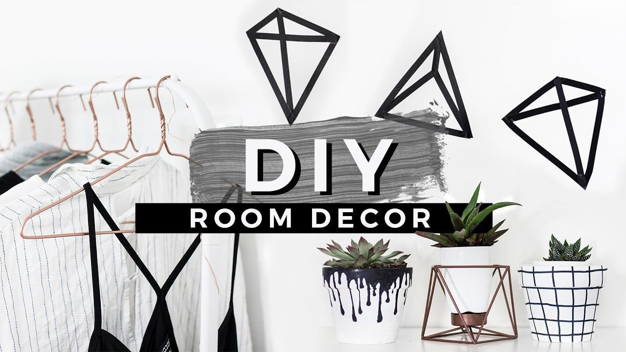 Diy Tumblr Room Decor Easiest Diys Ever Wall Decals Custom