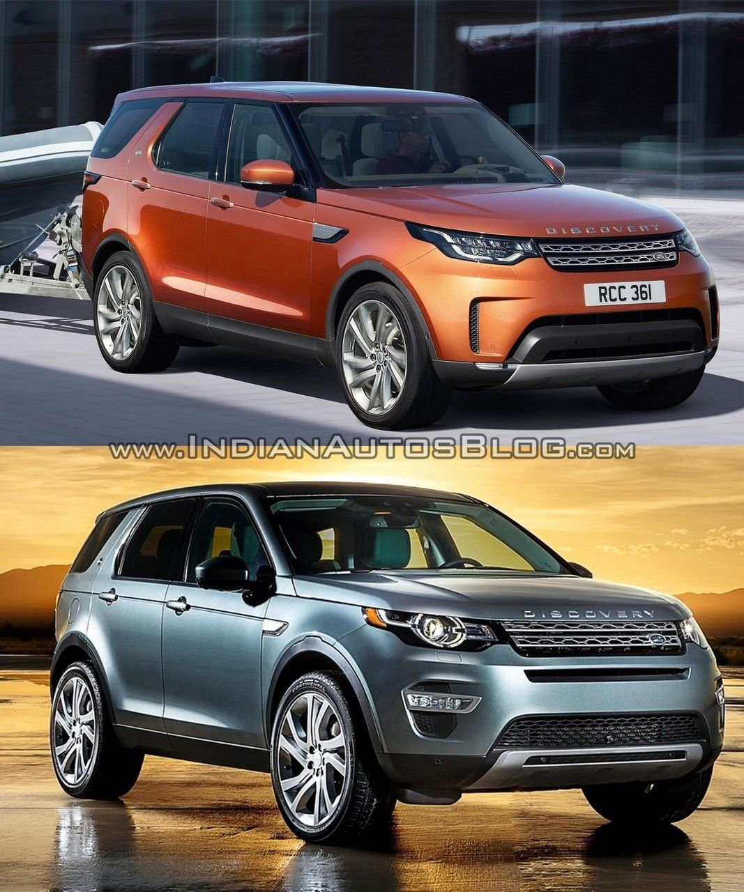 2017 Land Rover Discovery Vs Discovery Sport In Images Land Rover Land Rover Discovery Land Rover Discovery Sport