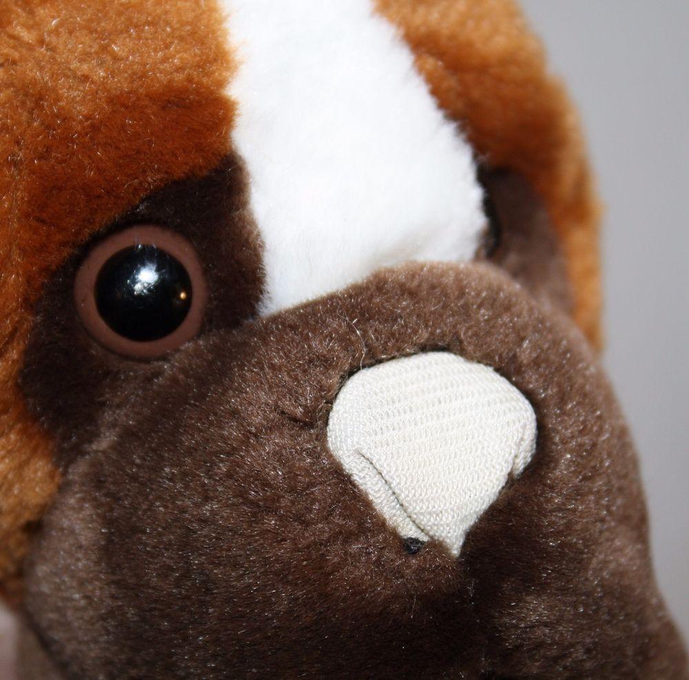 Animal Alley Boxer Puppy Dog 12 Plush Stuffed Toys R Us Soft Toy