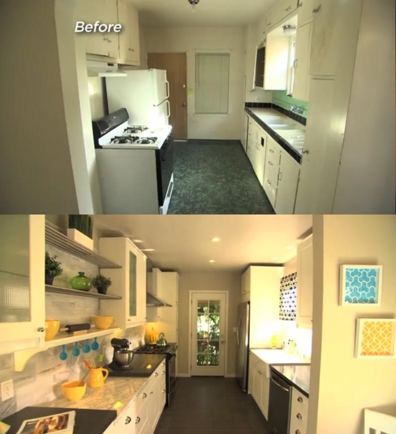 Kitchen Before After From Power Broker Episode Hpobr 101h On Hgtv Kitchen Kitchen Cabinets Design