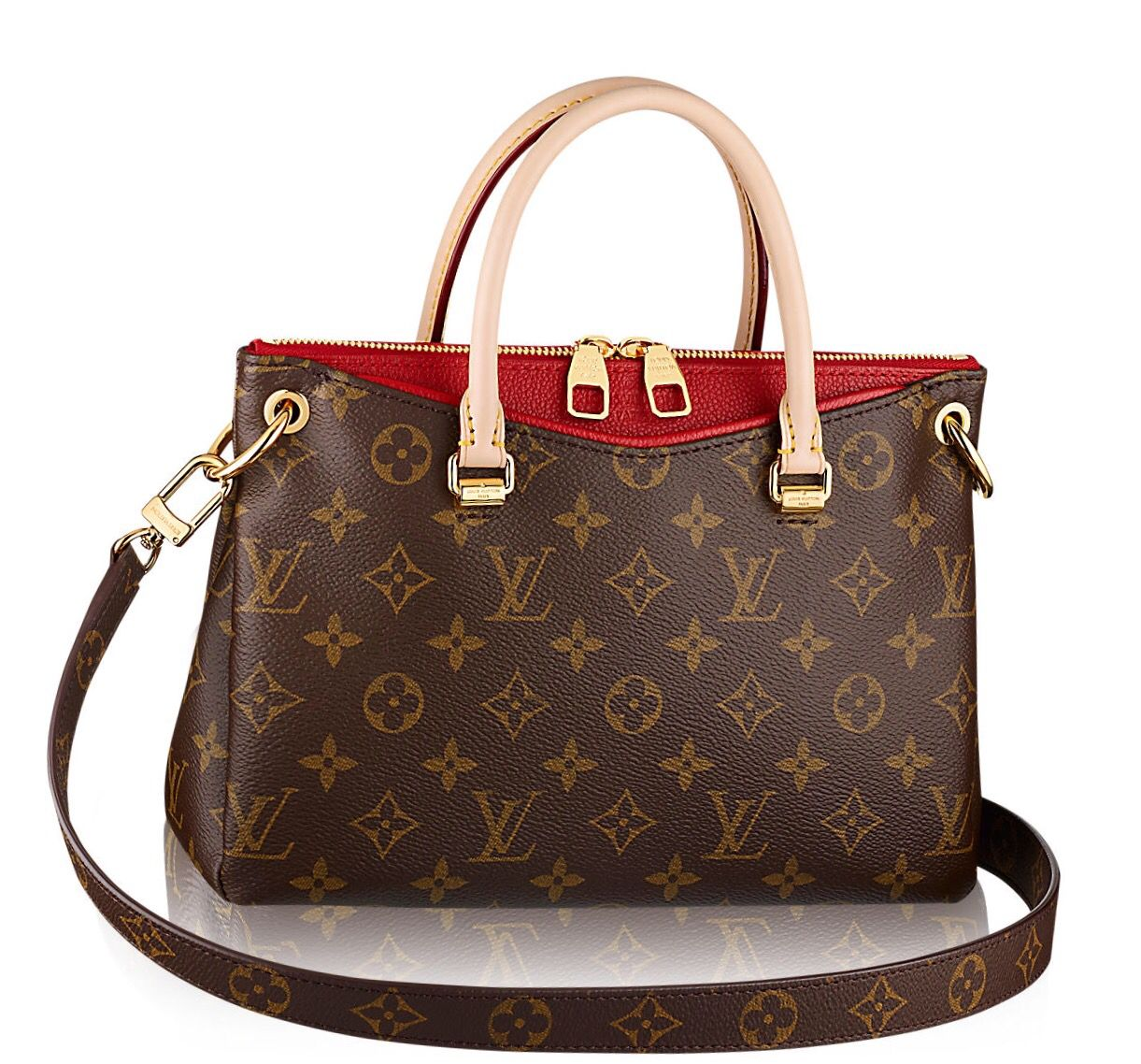 002950eef3 Louis Vuitton Pallas BB with red accent. | Bag Laydee | Louis ...