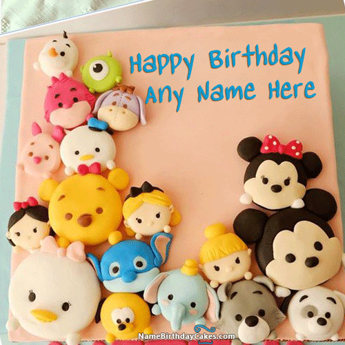awesome mix cartoon faces birthday cake for kids with name name on birthday cake name shiva